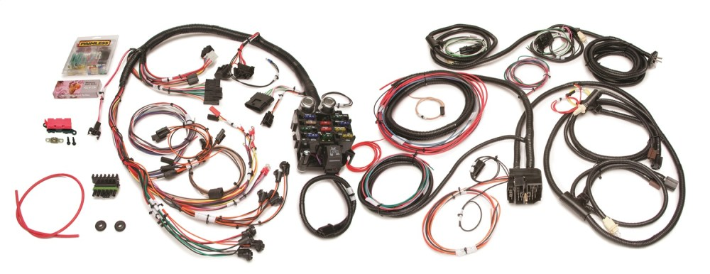 medium resolution of painless wiring 10150 21 circuit direct fit harness fits 76 86 cj5 cj7 scrambler