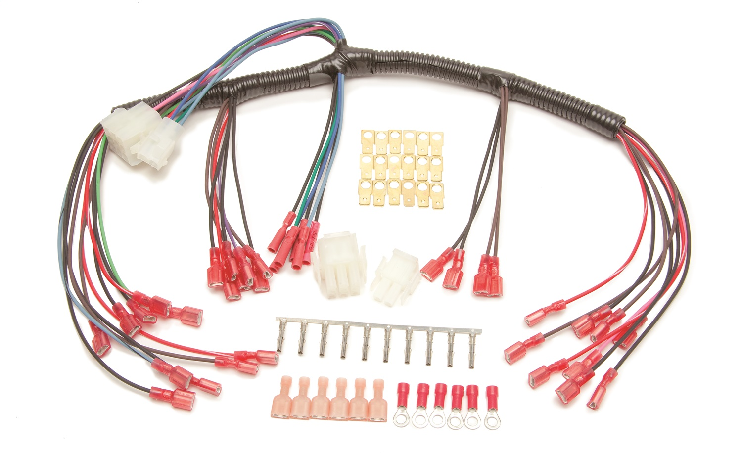 hight resolution of details about painless wiring 30301 universal autometer gauge dash wire harness w mech speedo