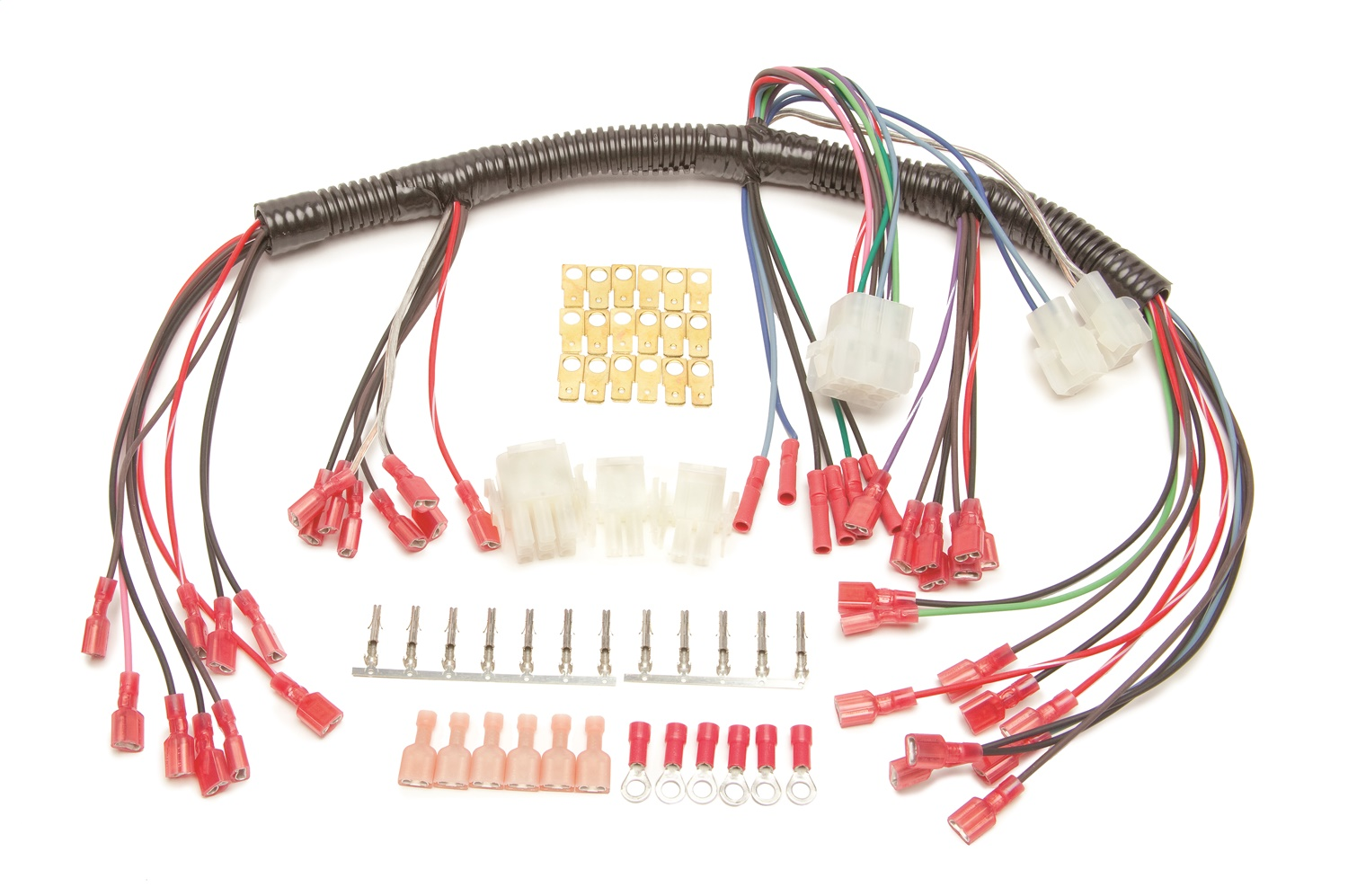 hight resolution of details about painless wiring 30302 universal autometer gauge dash wire harness w elec speedo