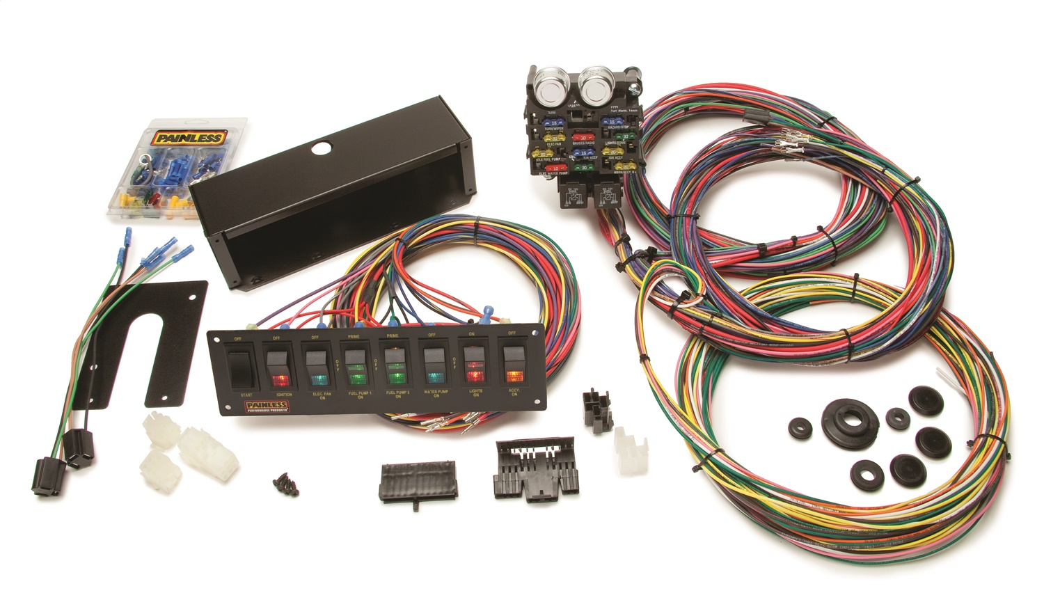 painless wiring 79 trans am dash diagram 50003 21 circuit pro street chassis
