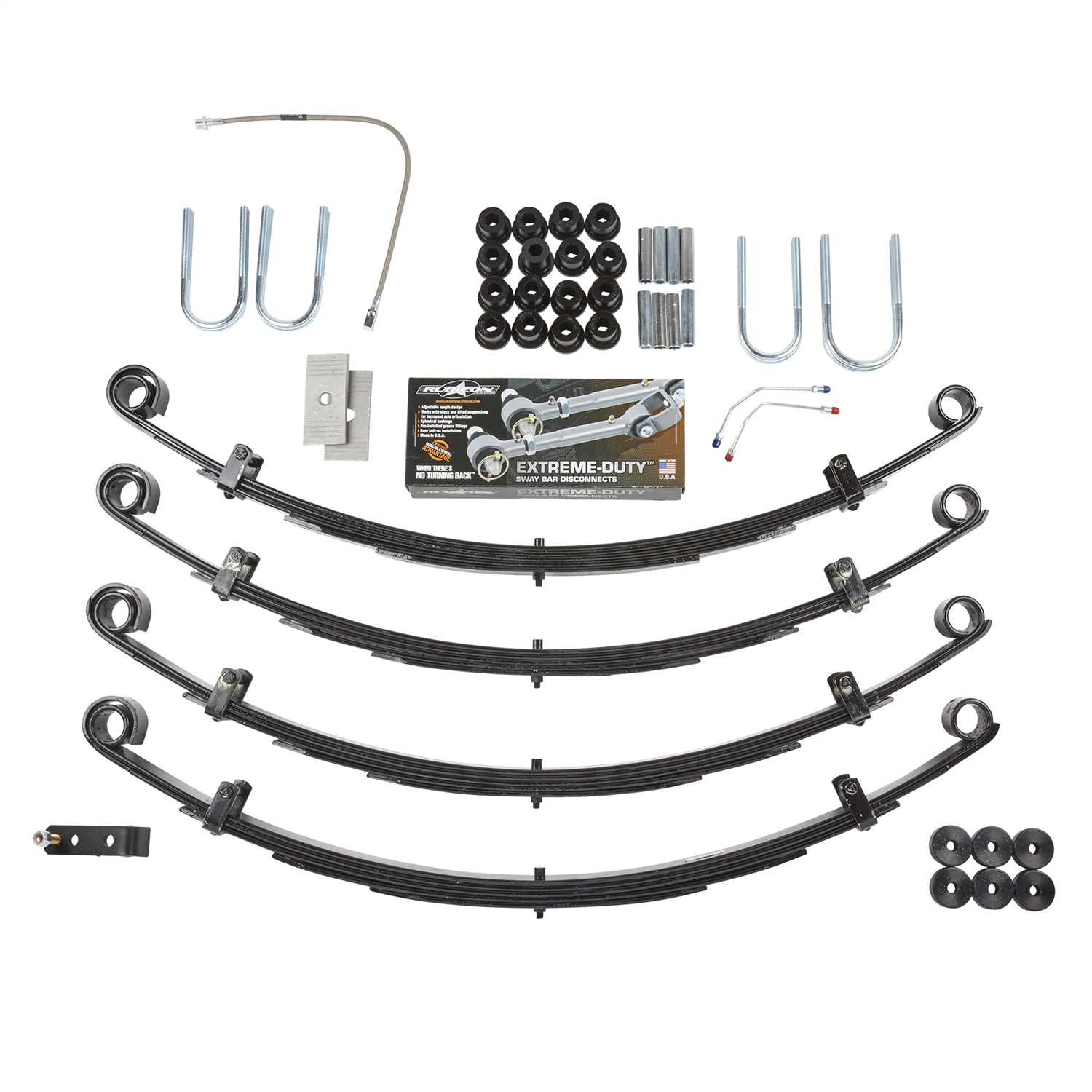 Rubicon Express Re Ns Suspension Lift Kit Fits 87 95