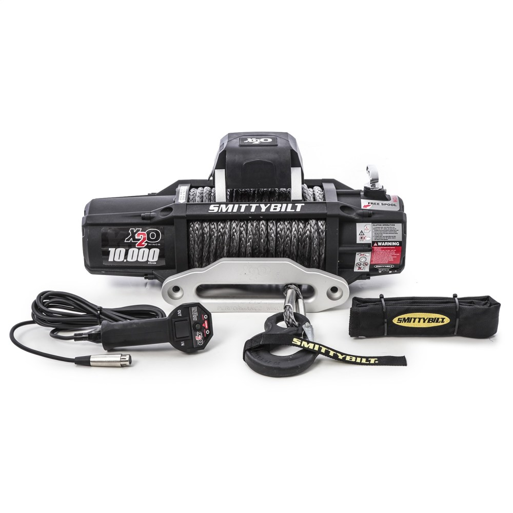 medium resolution of details about smittybilt winch 98510 x2o 10k gen2 wireless remote synthetic rope 10k
