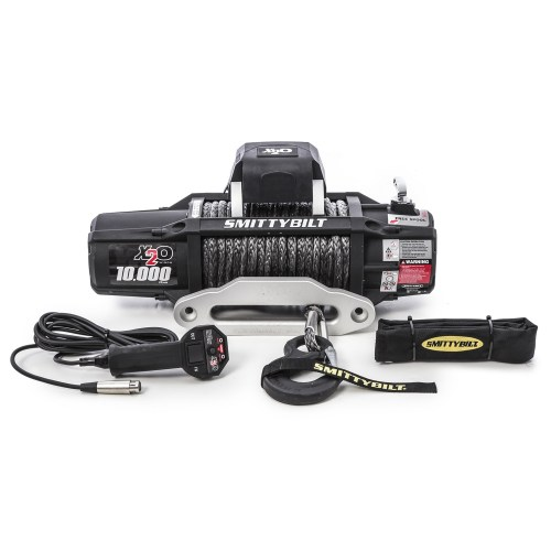 small resolution of details about smittybilt winch 98510 x2o 10k gen2 wireless remote synthetic rope 10k