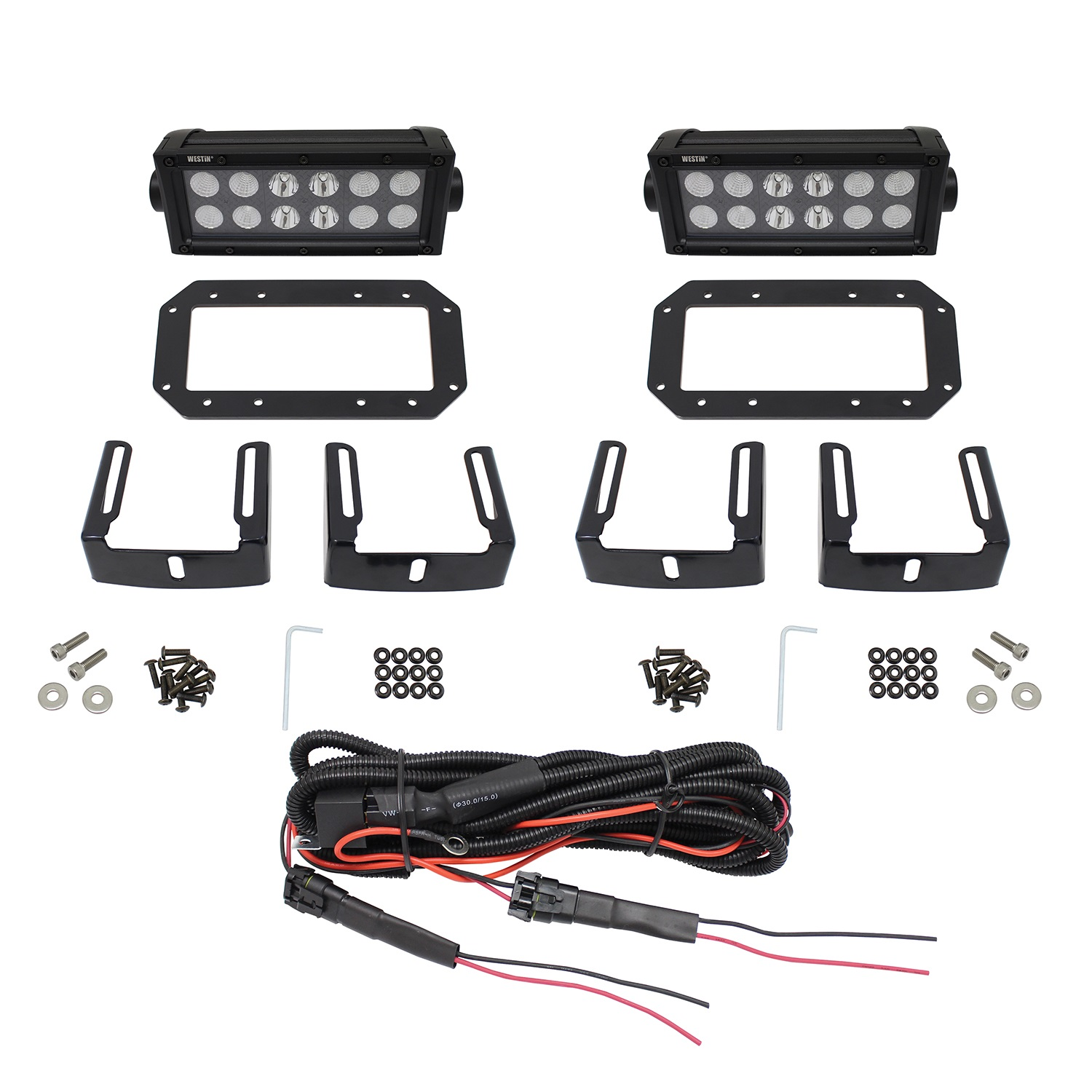 Westin 57 Hdx Flush Mount B Force Led Light Kit