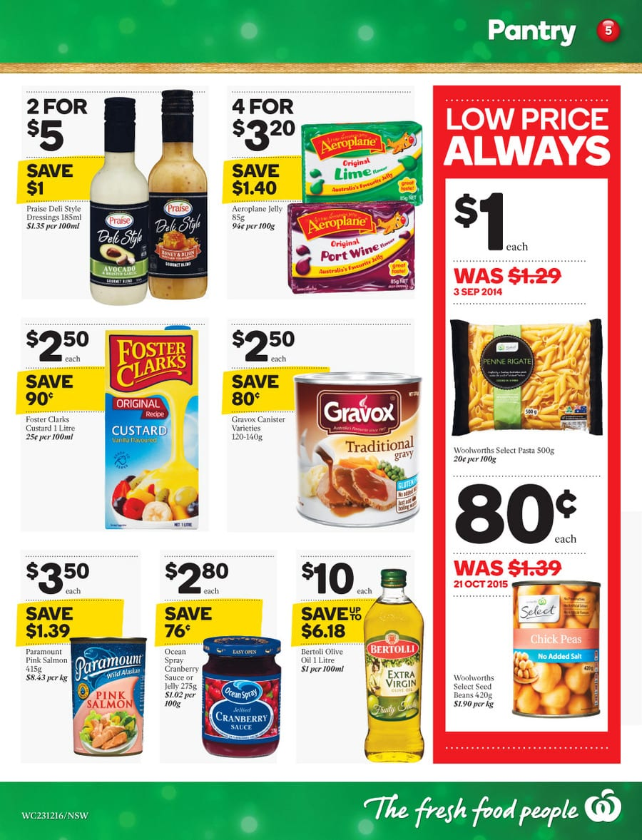 Woolworths Christmas Offers Catalogue 23  29 Dec 2015