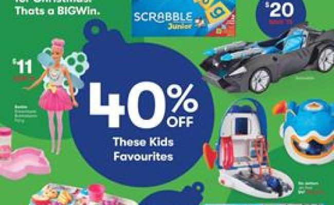 Big W Catalogue Toy Sale 30 Nov 13 Dec 2017