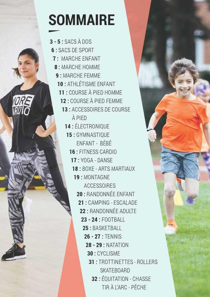 Catalogue Decathlon Maroc