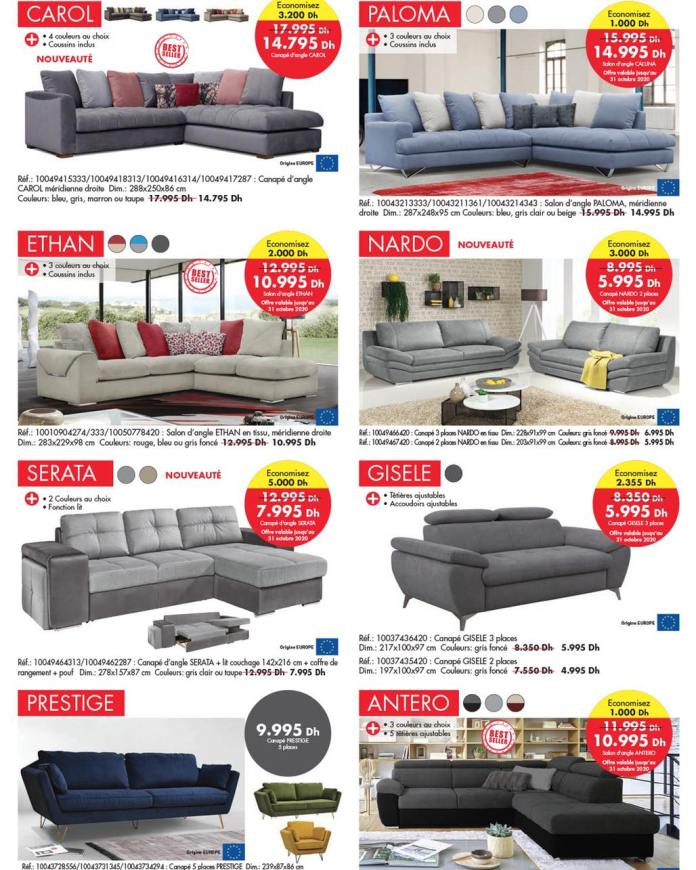 Catalogue KITEA octobre 2020 canapé - sofa p1