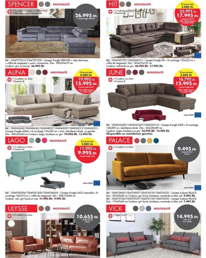 Catalogue KITEA octobre 2020 canapé - sofa