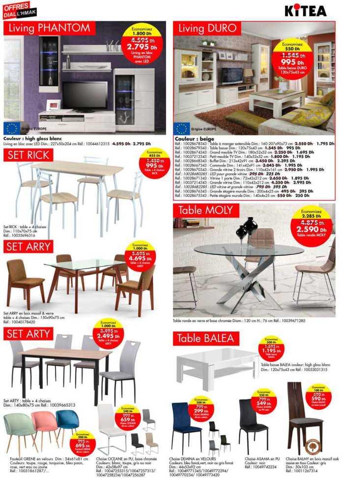 Catalogue KITEA promotions avril