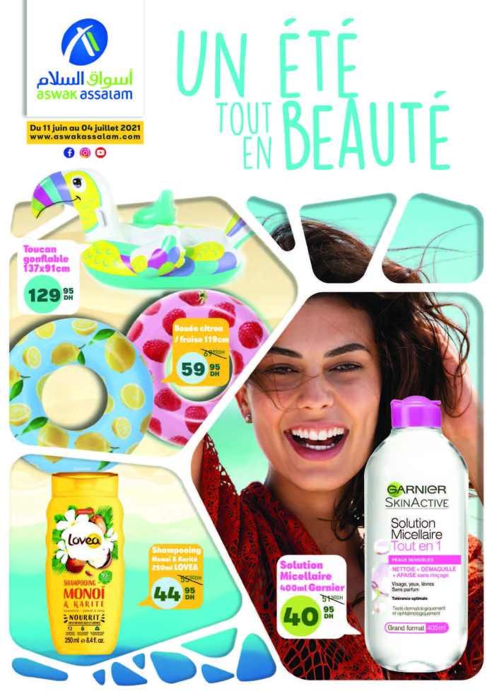 Catalogue Aswak Assalam Juin 2021 été - beauté