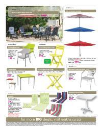 Makro Catalogue 1 May - 16 May 2016. Patio Furniture