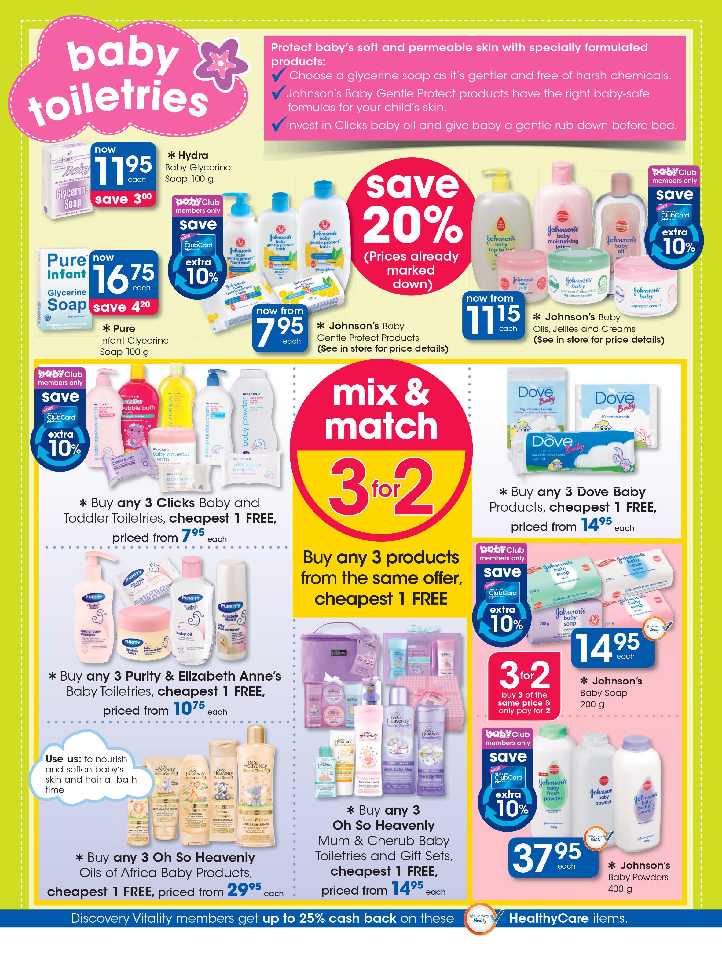Clicks Catalogue 14 June  10 July 2016 Winter Baby Savings