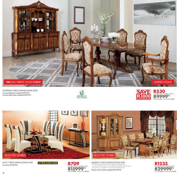 Payless Furniture Store Dining Room Tables: Dining Room Suite At Bradlows