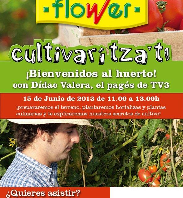 Jornada Hortícola con Dídac Valera, el pagés de TV-3, en el Garden Catalunya Plants