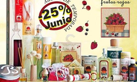 Frutos rojos: aroma del mes de Boles d'Olor con 25% de descuento.