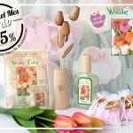"""""""White Tulip"""": aroma del mes de Boles d'Olor con 25% de descuento."""
