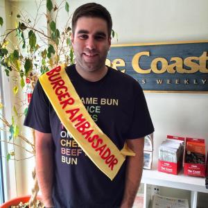 Burger Ambassador Josh