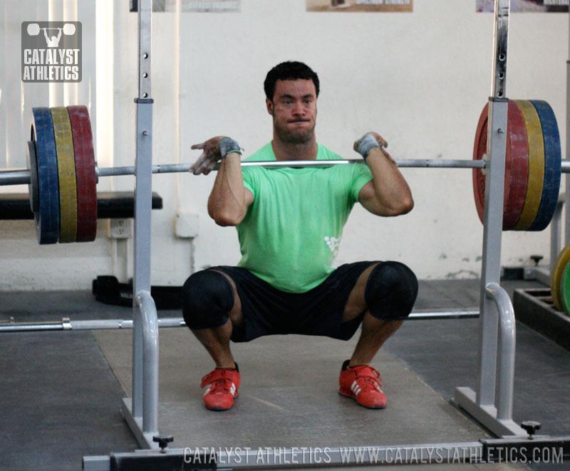 Zack Front Squat  Catalyst Athletics Olympic