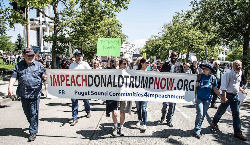 Impeachment March - Seattle