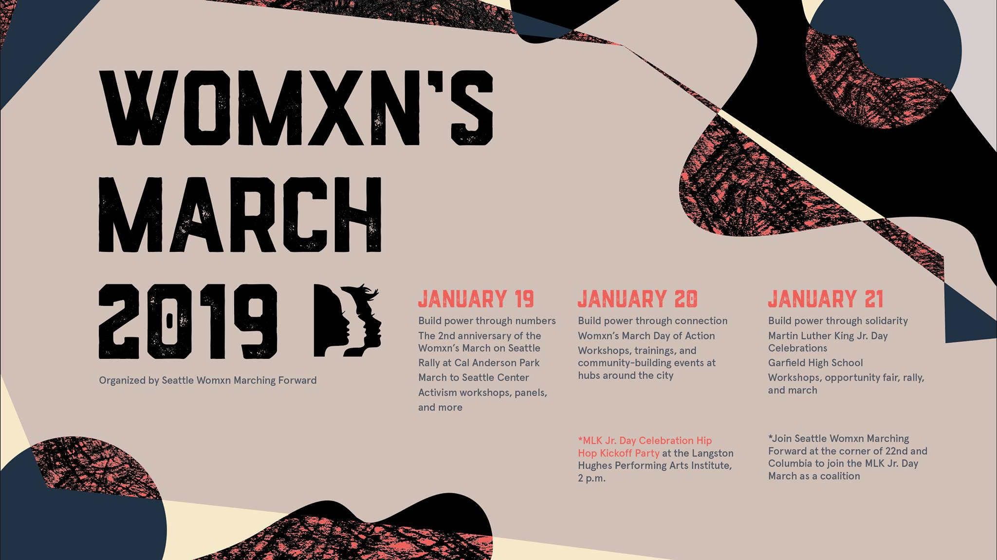 Womxn S March Seattle 2019 Building Power Catalytic Community