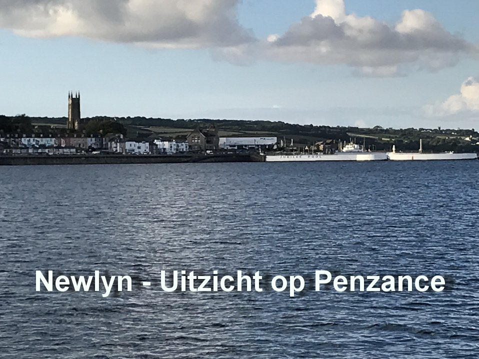 Newlyn - Uitzicht op Penzance