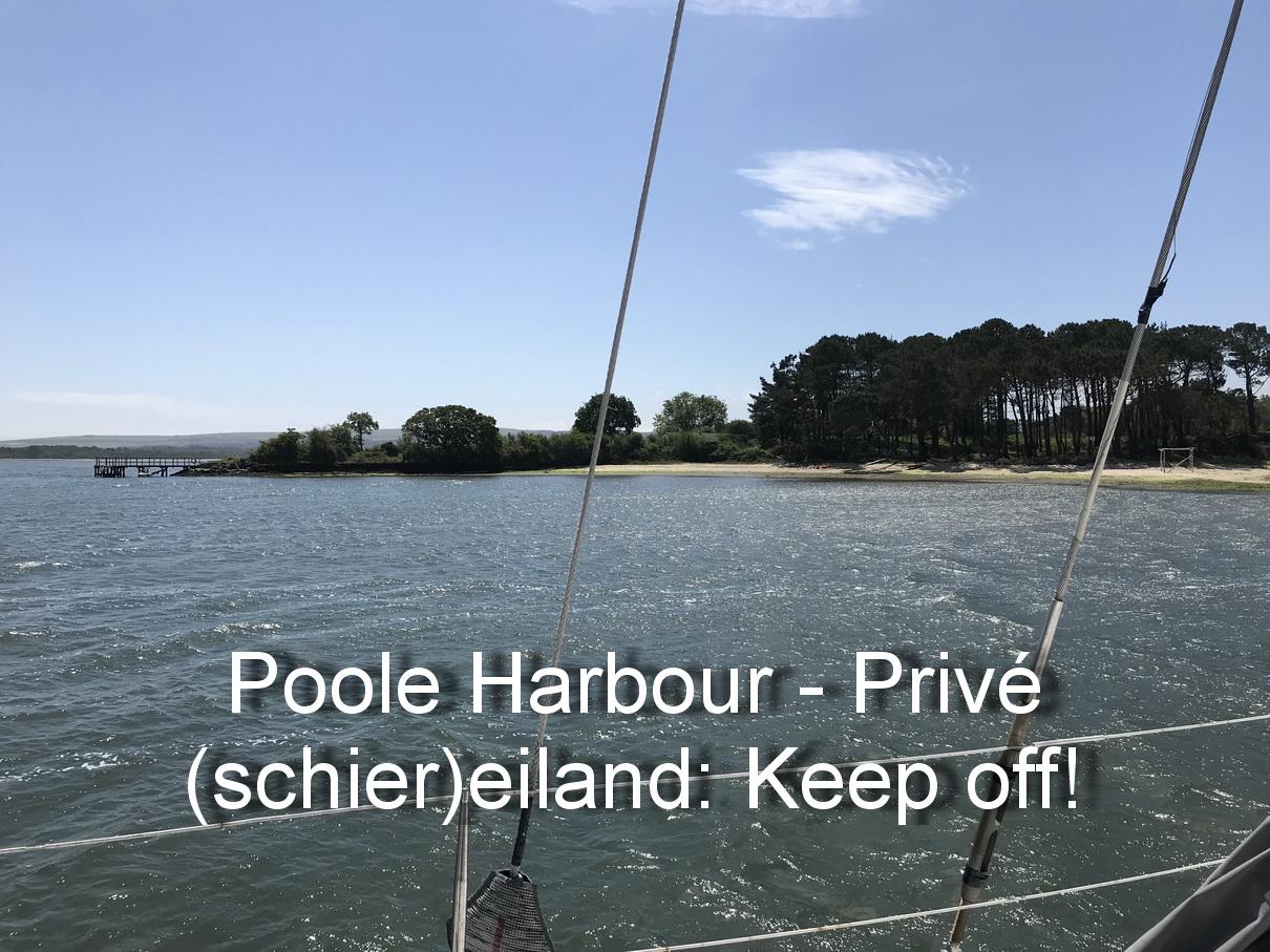 Poole Harbour - Privé eiland