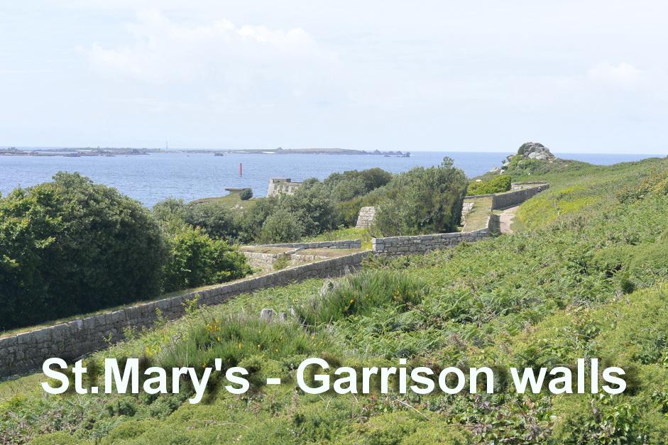St.Mary's - Garrison walls2