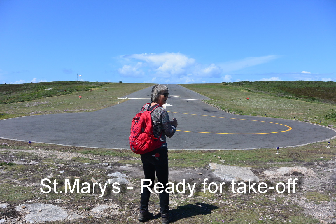 St.Mary's - Ready for take-off