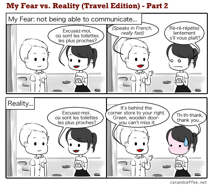 My Fear vs. Reality – Part 2/3