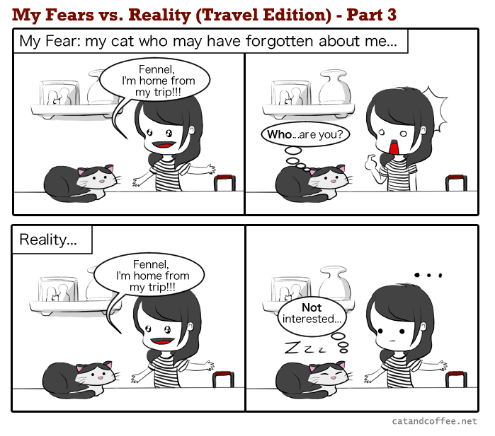 My Fear vs. Reality Part 3/3