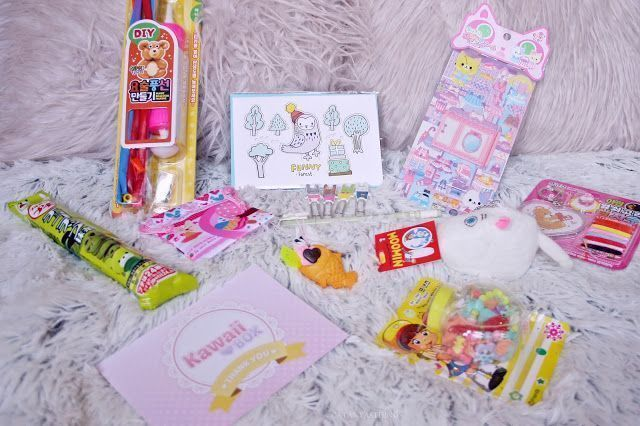 KAWAII BOX – Unboxing, Review + GIVEAWAY