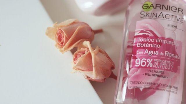 GARNIER Skin Active GAMA BOTÁNICA con Agua de Rosas