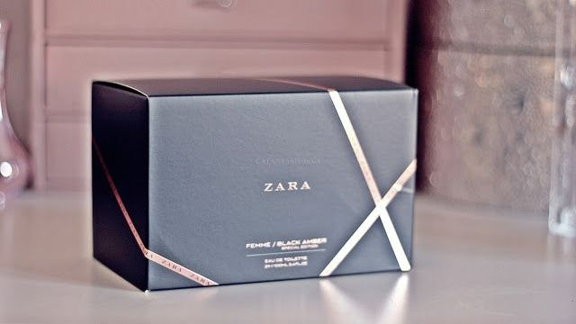 ZARA FEMME / BLACK AMBER – Special Edition