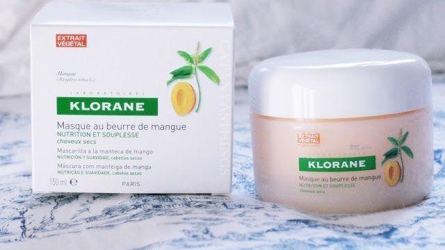 KLORANE – Mascarilla Capilar a la Manteca de Mango