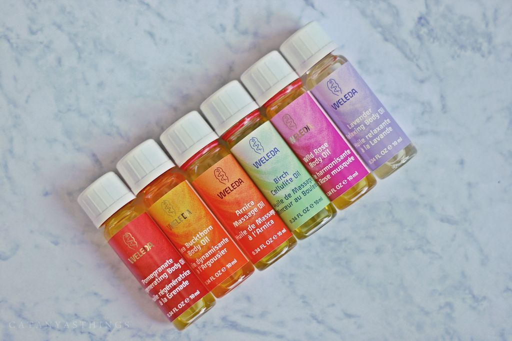 weleda body oils starter kit