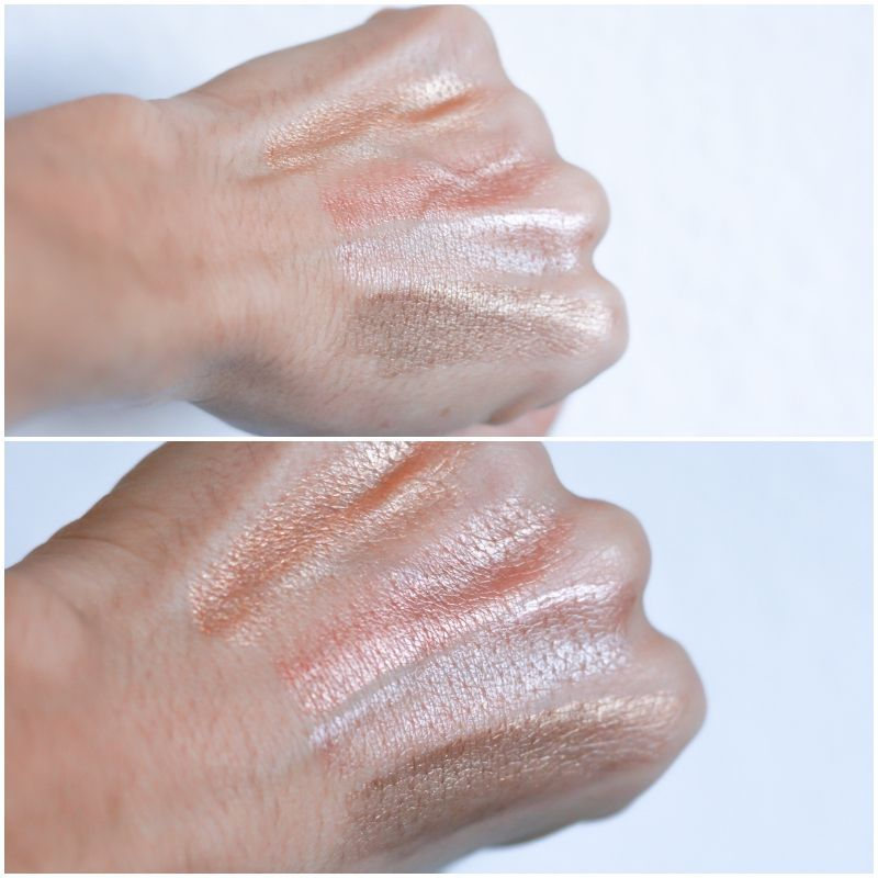 click glow lancome swatches