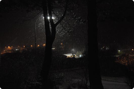 Lørdags sne