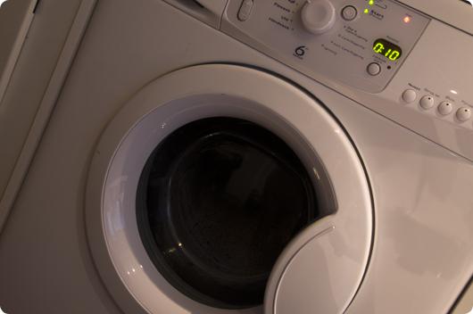 vaskemaskinen