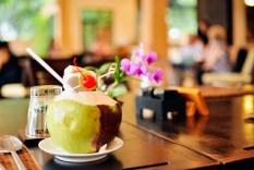 Frisk kokosnød
