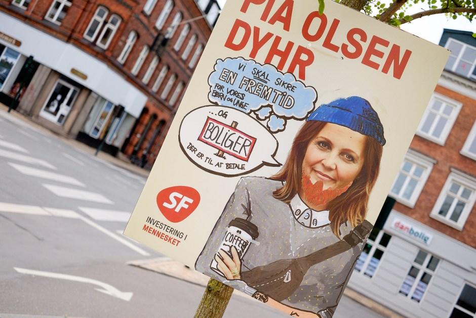 Pia Olsen Dyhr - valgplakat 2015