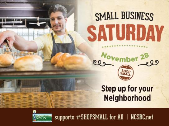 Small Business Saturday Artwork