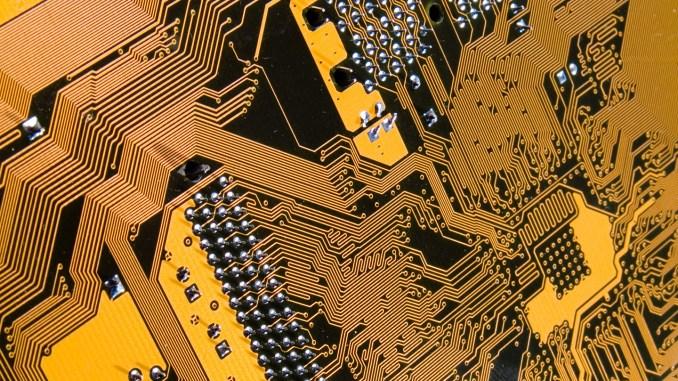 Computer Circuit Board Image