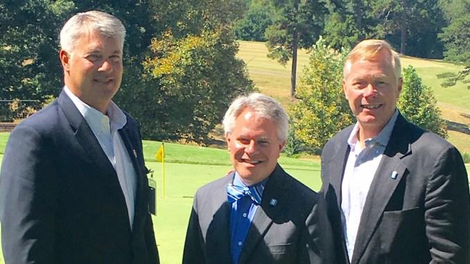 Dr. Garrett Hinshaw, Dr. Jimmie Williamson, Bill McBrayer Image