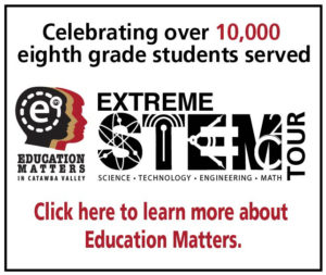 Extreme STEM Tour Pillow Ad