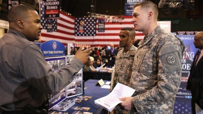 Veterans Job Fair Image
