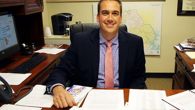 CCS Superintendent Matt Stover