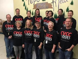 CVCC Employees Volunteer