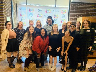 Catawba Valley Community College music students recently competed in the North Carolina National Association of Teachers of Singing competition at Meredith College in Raleigh. Pictured (front, from left) Allison Furr, Bethany Spears, Ashley Hood, Hannah Kevitt, Cesar Cruz-Rodriguez, (second) Willow Jackson, Savannah Minyard, accompanist Freda Herrell, faculty member Caroline Simyon, Ishmael Parsons, faculty member Kim Ray, accompanist Jennifer McNeely, Annie Walshak, and Madison Saunders.