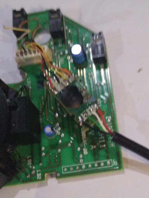 small resolution of sanoxy cable replaced